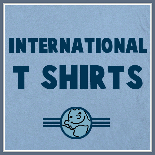 international t shirts