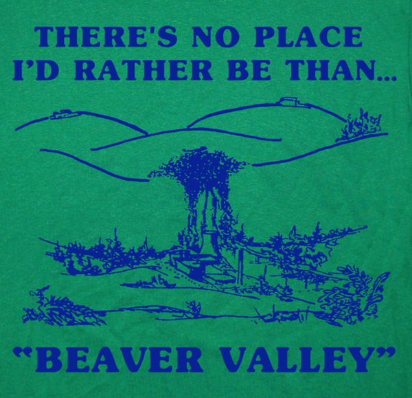 Beaver Valley t Shirt funny offensive Tee