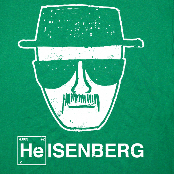 Heisenberg T Shirt Breaking Bad Tee