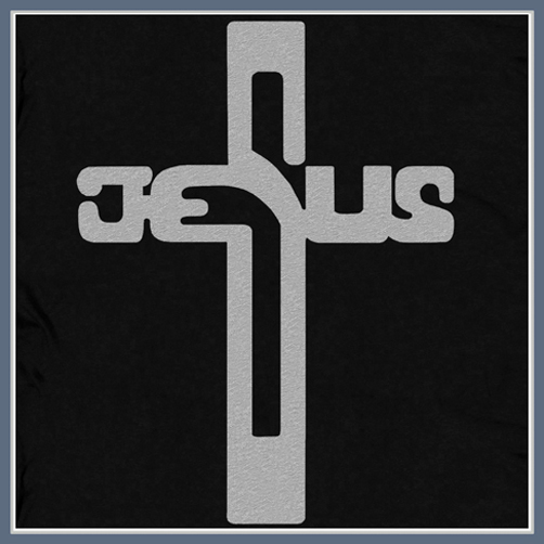 JESUS CHRIST CROSS T SHIRT RELIGIOUS TEES