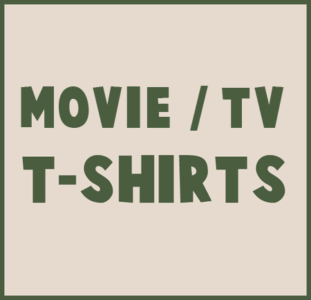 movie t shirts