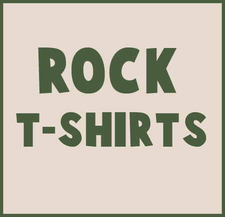 Rock t shirts