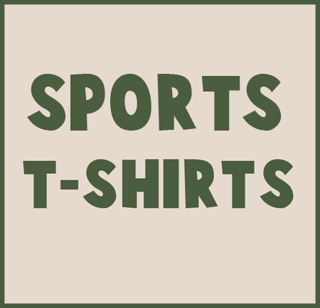Sports t shirts