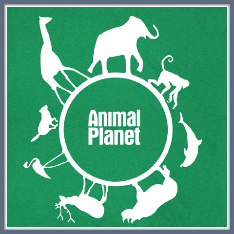 ANIMAL PLANET T SHIRT COOL TEE