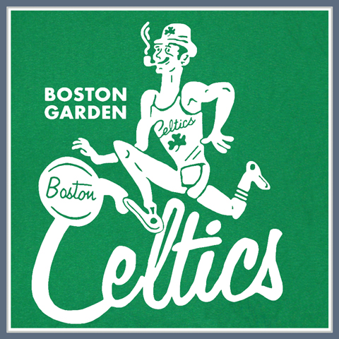 VINTAGE BOSTON CELTICS T SHIRT TEE