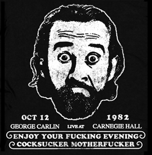 George Carlin Vintage T Shirt