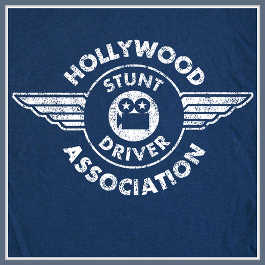 Stunt Driver T Shirt Hollywood Stunt Man Tee