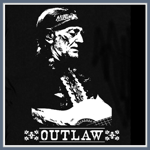 Vintage Willie Nelson T Shirt Tee