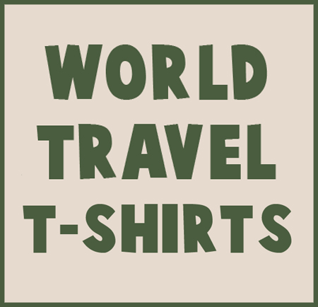 world traveller t shirts